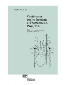 CONFERENCES SUR LES EMOTIONS ET L'HOMEOSTASIE, PARIS, 1930