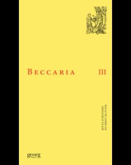 BECCARIA III